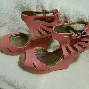 *NWT* Charlotte Russe wedge sandals